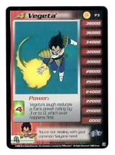 DRAGONBALL Z Vegeta FOIL P3 promo CCG card, MINT, never played