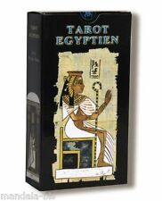 Tarot Egyptien - 78 Cartes avec Instructions (Silvana Alasia)