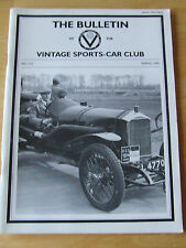 THE BULLETIN VINTAGE SPORTS-CAR CLUB SPRING 1996 #210 HANS LISKA PEDERSEN KENT