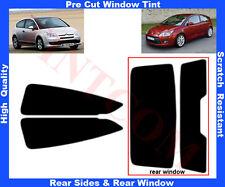 Pre-Cut Window Tint Citroen C4 3D 2004-2010 Rear Window & Rear Sides Any Shade