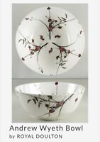 The Andrew Wyeth Bowl, Largest 20th Century ROYAL DOULTON Bowl, Orig.Retail $325
