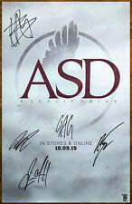 A SKYLIT DRIVE ASD 2015 Ltd Ed Signed By All 5 RARE Poster +FREE Punk Poster