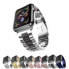 Pulseira De Aço Inoxidável 40/44mm Pulseira Link Para Apple Watch 38/42mm Iwatch Pulseira