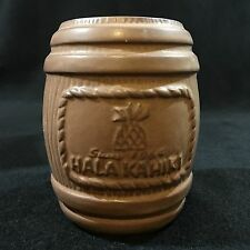 Hala Kahiki Wiki-wiki Rum Barrel Tiki Farm Mug Tiki Tony River Grove New