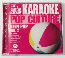 Karaoke Pop Culture The Singing Machine Teen Pop Vol 2 16 Songs