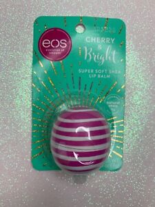 eos Lip Balm Sphere - Cherry and Bright - 0.25oz, Hypoallergenic, Paraben FREE
