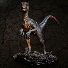 ITOY 1/35 Velociraptor Statue Raptor Dinosaur Model Collector Decor Toy Kid Gift