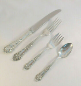 French Renaissance-Reed & Barton 4-PC Dinner Place Setting(s)-French