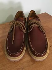 New Timberland Men's Earthkeepers Classic Lug Boat Shoes 2-Eye 10M Burgundy