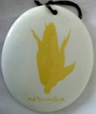 Nebraska Dept 56 State Of Mine Oval Ornament or Medallion #4038413 New In Box