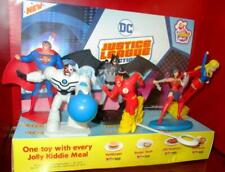"2019 set of 6 Jollibee Justice League figures 4.5"" Batman Superman  Wonder Woman"