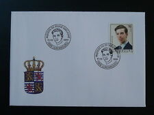 royalty 18 years of Prince Guillaume FDC Luxembourg 1999