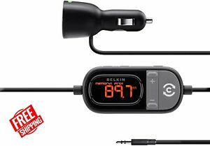 Belkin F8Z439-P TuneCast Auto Universal Hands-Free AUX for iPod, iPhone, iPad...