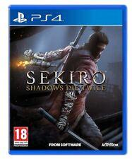 SEKIRO - SHADOW DIE TWICE VIDEOGAME PS4 ITALIANO GIOCO PLAY STATION 4 NUOVO