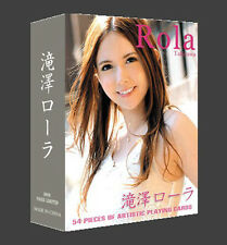 New A Deck Poker Sexy Girl Japanese AV Takizawa Rola playing card