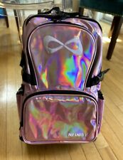 NEW - NFINITY HOLOGRAPHIC PINK BACKPACK - CHEER GYMNASTICS Quick Ship