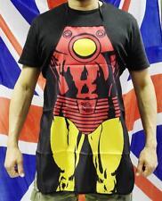 Ironman Grembiule da cucina Barbeque BBQ ESTATE DIVERTENTE eroe giallo
