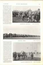 1896 Corsa di Cavalli Ascot GOLETTA SELLANDO con un peso di ARLEQUIN