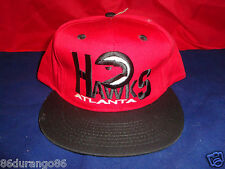 ATLANTA HAWKS  BASEBALL HAT 1990S NEW WITHOUT TAGS SNAPBACK DEADSTOCK