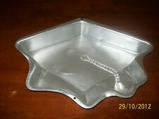 Wilton TOPPING OFF SUCCESS ,EARNING HIS DEGREE Graduate Hat cake pan, Tin, Mold