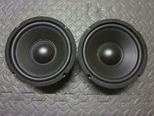 "(2) 6.5"" Woofer Speakers.Pair.8 Ohm.baby a40 Replacement.6-1/2.six half inch.5"