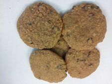 Two Dozen Soft Handmade Oatmeal and Raisin Cookies
