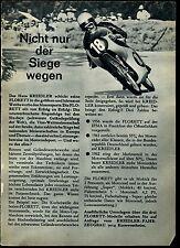 Kreidler--Kreidler Florett--Nicht nur der Siege wegen--Werbung von 1963-