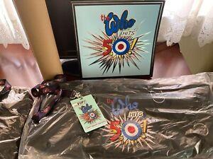 The Who Turns 50 Tourin Concert Memorabilia