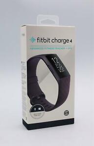 Fitbit Fitness-Tracker Charge 4 mit GPS, Sportuhr, Touchscreen, Wasserdicht