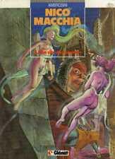 AMBROSINI--NICO MACCHIA T.1 la cité des ombres--Editions Originale GLENAT 1985