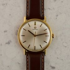 C.1967 Vintage Omega Genève watch cal. Ω 601 ref.131/25016 in 9ct yellow gold