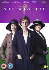 SUFFRAGETTE DVD Carey Mulligan Meryl Streep Sarah Gavron Original UK Rele New R2