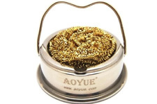Aoyue Soldering Iron Tip Cleaner With Brass Wire Sponge No Water Needed Ty 98