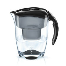 BRITA Wasserfilter ELEMARIS XL 3,5 Liter schwarz mit MAXTRA+ Kartusche