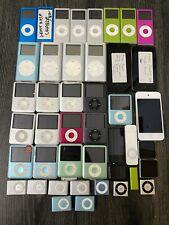 Job Lot Faulty Apple iPod Touch Nano Shuffle Gen Generation GB Spares A5