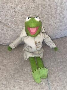 "Vintage 1981 Fisher-Price Jim Henson Kermit The Frog Muppet Plush Doll #857 14"""