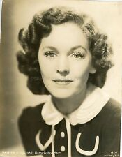 MAUREN O'SULLIVAN  30s VINTAGE PHOTO ORIGINAL MGM STUDIO PORTRAIT #1