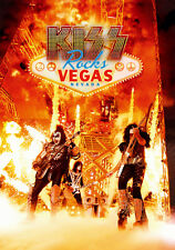 KISS New Sealed 40th ANNIVERSARY LAS VEGAS LIVE CONCERT BLU RAY & CD SET