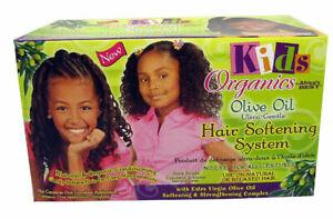 Africa`s Best Kids Organics Olive Oil Ultra Gentle Hair Softening System Kit