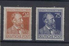 AB Gem.-Ausg.1947 - 50. Todestag von Heinrich von Stephan - Mi. 963-964 **