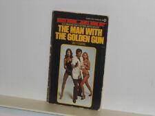 Vtg. Roger Moore 007 James Bond Man With The Golden Gun by Flemming Paperback