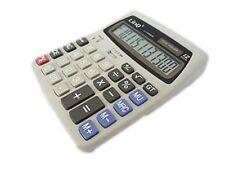 Calcolatrice Elettronica Linq LI-K666 con Display 12 Cifre Solare e Batterie