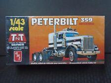 VINTAGE AMT PETERBILT 359 TRACTOR TNT SERIES TRUCK PLASTIC MODEL KIT 1/43 T700