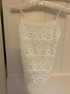 Ivory M&S Lace Camisole Size 8