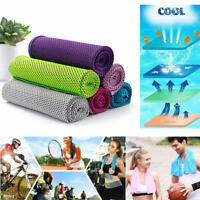 Ice Cooling Towel for Sports / Workout / Fitness / Gym / Yoga / Pilates 1- 4 Pcs