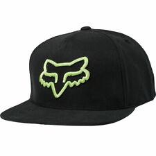 Fox Racing Men's Instill Snapback Hat Black/Green Headwear Baseball Cap Stree