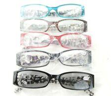 Stylish Womens Reading Glasses Spring Hinges 5 Pack Reader Eyeglasses +3.50