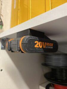 5x Worx Powershare 20v Max Battery Holder