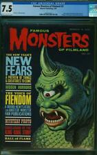 FAMOUS MONSTERS OF FILMLAND 27 CGC 7.5 VF-