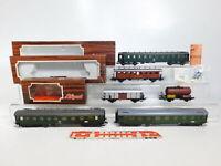 CJ217-1# 6x Liliput H0/DC Wagen: DB + DRG + SBB-CFF + Feldschlösschen, Mängel